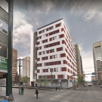 HOMESPACE GIVING VACANT DOWNTOWN TOWER NEW LIFE AS AFFORDABLE HOUSING