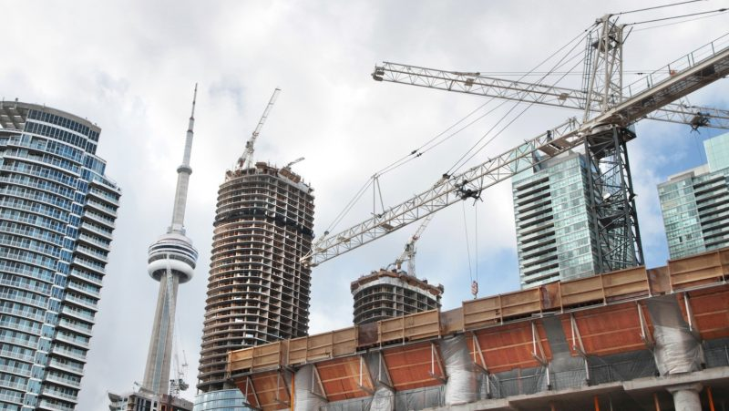 WHY DOES TORONTO HAVE THE MOST CONSTRUCTION CRANES IN NORTH AMERICA BUT 65,000 EMPTY UNITS?