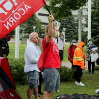 TENANT GROUP, NEW OWNERS SQUARE OFF OVER VANIER 'RENO-VICTIONS'